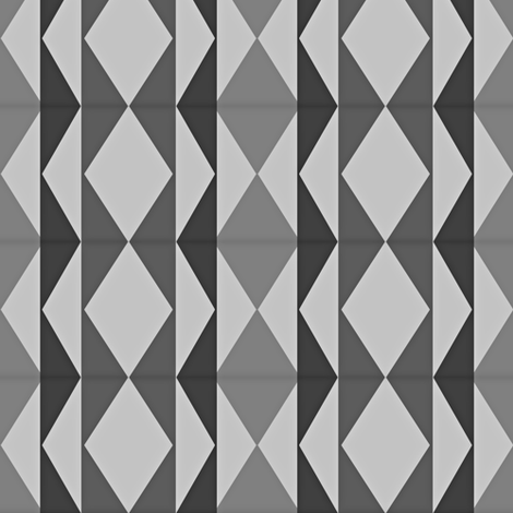 Grey Chic fabric by winterblossom on Spoonflower - custom fabric