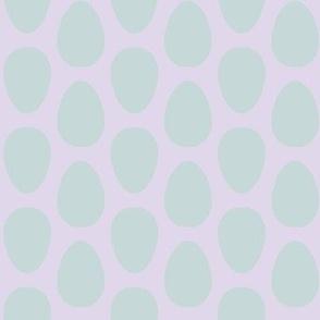 Free Range (robin's egg blue + pale lilac)