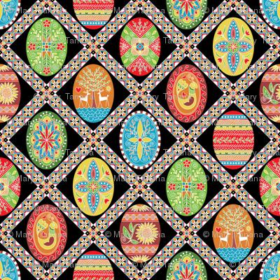 Egg-stravaganza (painted eggs)