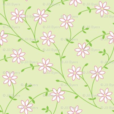 Daisy Vine light green