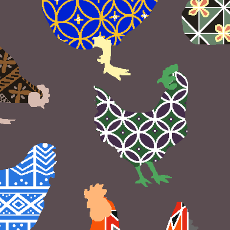 Where do pysanky eggs come from? fabric by kjthoon on Spoonflower - custom fabric
