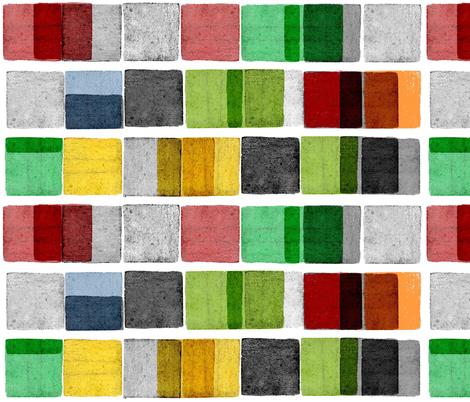 Twenty one blocks fabric by francescaiannaccone on Spoonflower - custom fabric