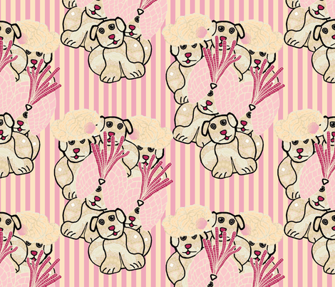 Gang of Puppies fabric by anniedeb on Spoonflower - custom fabric