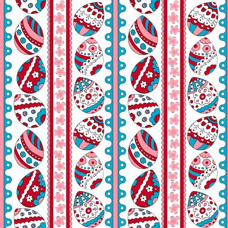 eggstatic_mini fabric by pollywhistle on Spoonflower - custom fabric