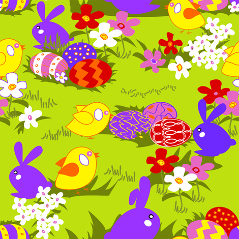 easter_time fabric by riztyd on Spoonflower - custom fabric