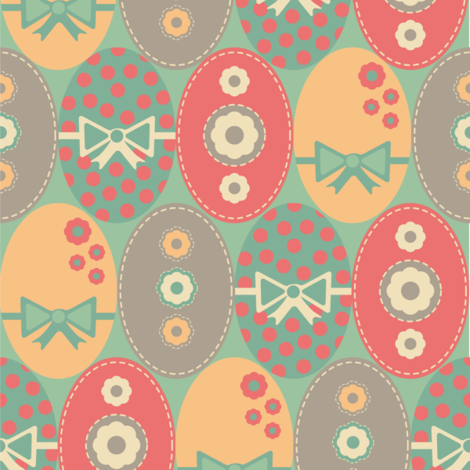 EGGTASTIC fabric by jlwillustration on Spoonflower - custom fabric