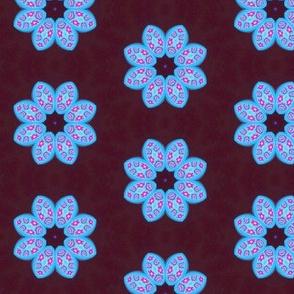 Polymer Clay-Blue Petals