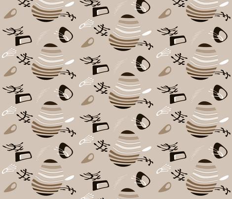 Fantastico3 fabric by retroretro on Spoonflower - custom fabric