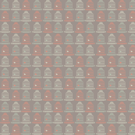 don't cage me in fabric by mezzime on Spoonflower - custom fabric