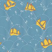 Sailboats and High Seas