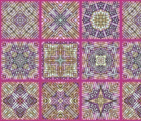Cheater Polymer-fuschia fabric by koalalady on Spoonflower - custom fabric