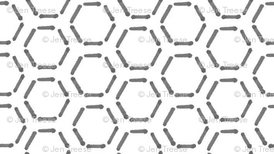 Grey Honeycomb