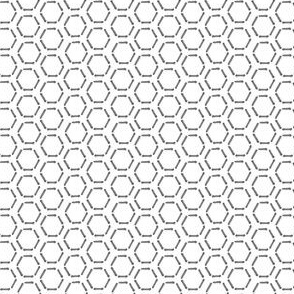 Grey Honeycomb