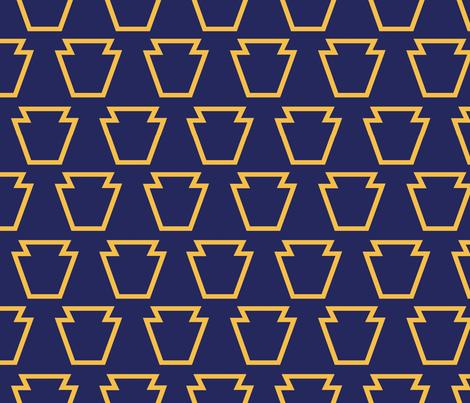 Keystone-1 fabric by danab78 on Spoonflower - custom fabric
