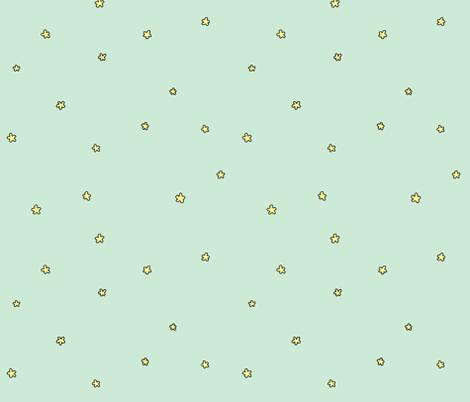 fling flowers fabric by doodleandhoob on Spoonflower - custom fabric