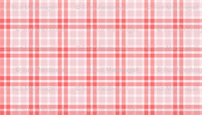 Plaid RED/PINK