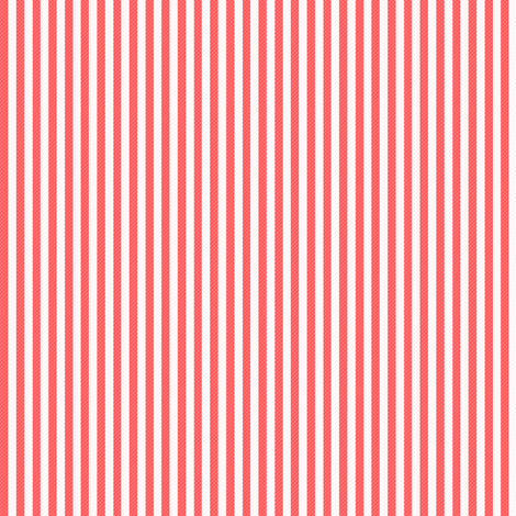 Red TICKING fabric by puddlefoot on Spoonflower - custom fabric