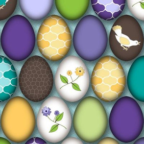 Celebrate Spring with Painted Eggs