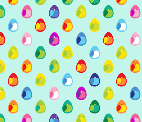 Baby Bird fabric by spellstone on Spoonflower - custom fabric
