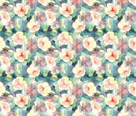 dreamy garden fabric by kociara on Spoonflower - custom fabric