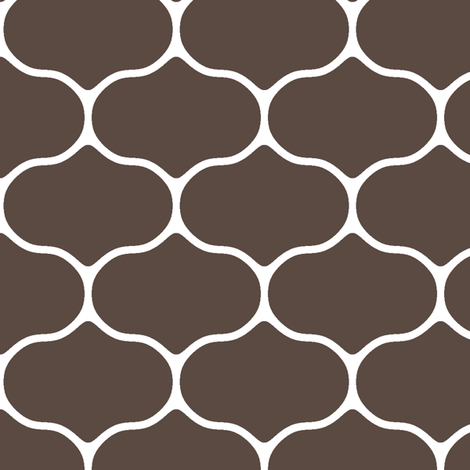 Wire Brown fabric by inscribed_here on Spoonflower - custom fabric