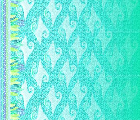 ceruleanverde fabric by glimmericks on Spoonflower - custom fabric
