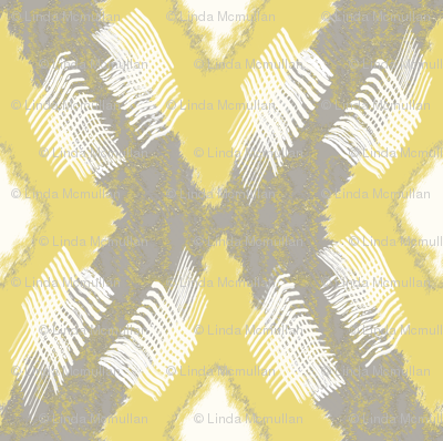 Ikat Diamond Citron