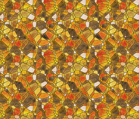 golden fabric by kociara on Spoonflower - custom fabric