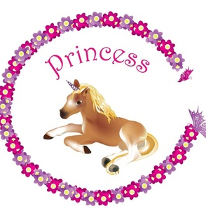 Unicorn with child's name
