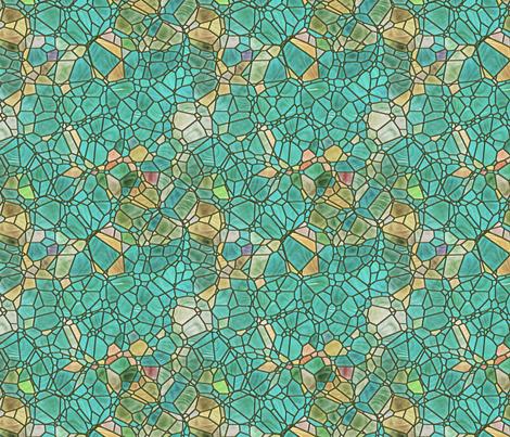sea green fabric by kociara on Spoonflower - custom fabric
