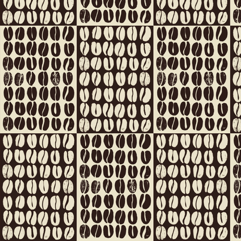 Spill the beans fabric by mezzime on Spoonflower - custom fabric