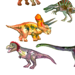 Dinosaur decals