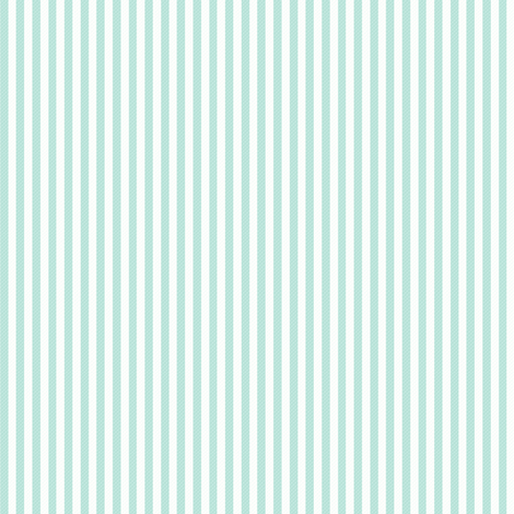 AQUA Ticking fabric by puddlefoot on Spoonflower - custom fabric