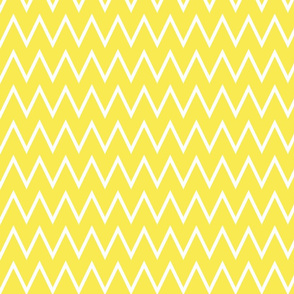Small Lemon Zest Yellow Chevron
