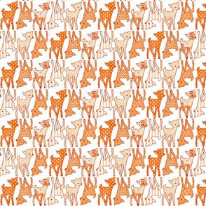 Two Way Orange Deer