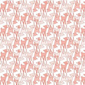 Two Way Peach Deer