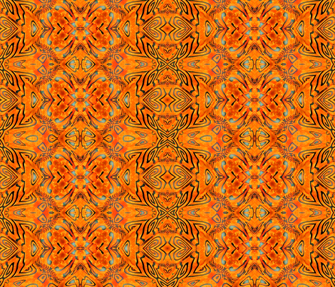 Left Over Polymer Clay Pattern 4    fabric by koalalady on Spoonflower - custom fabric