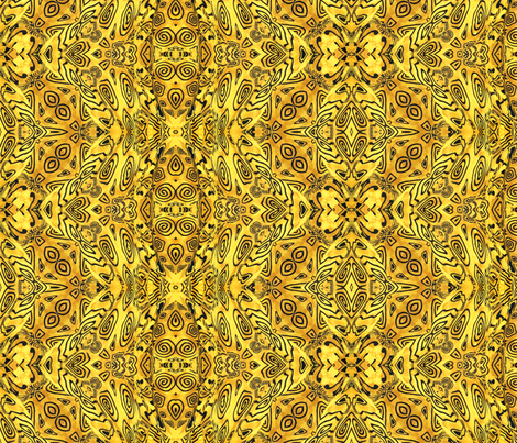 Left over Polymer Clay Pattern 1 fabric by koalalady on Spoonflower - custom fabric
