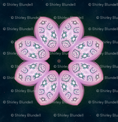 Polymer Clay-Pink Petals
