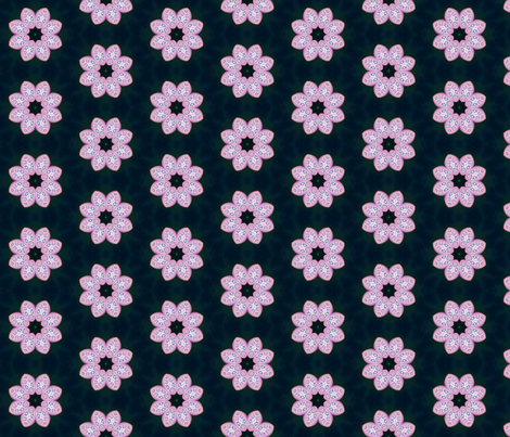Polymer Clay-Pink Petals fabric by koalalady on Spoonflower - custom fabric