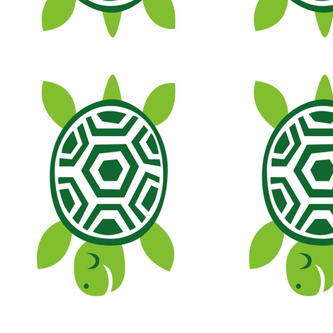 greenbubz turtle fabric by dennisthebadger on Spoonflower - custom fabric