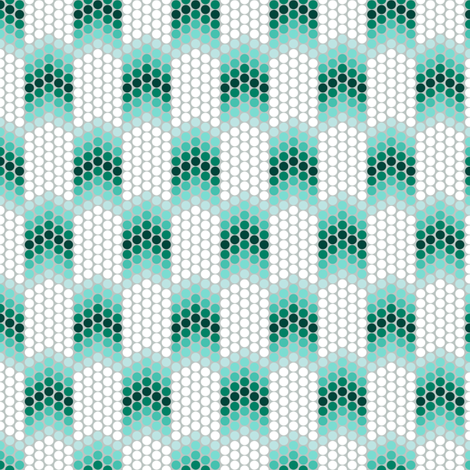 Dotty Emerald Snakeskin fabric by siya on Spoonflower - custom fabric
