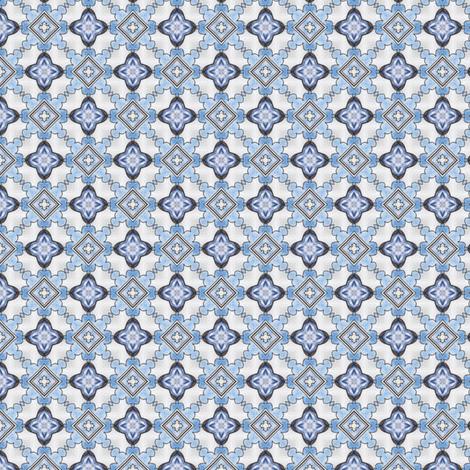 Kojiro's Crosses and Diamonds fabric by siya on Spoonflower - custom fabric