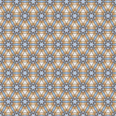 Kojiro's Caltrops fabric by siya on Spoonflower - custom fabric