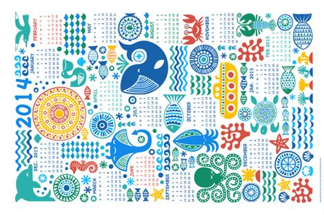 year under the sea fabric by dennisthebadger on Spoonflower - custom fabric