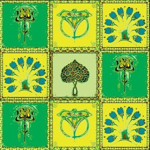 Art Nouveau Tiles