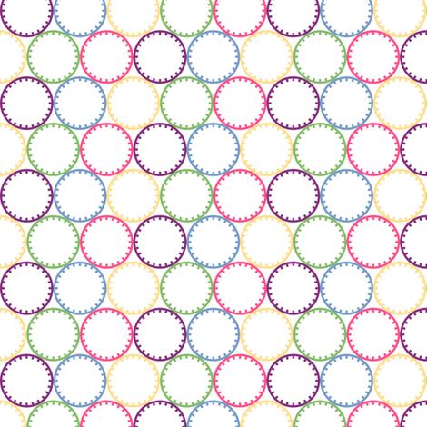 Chariklo Rings fabric by siya on Spoonflower - custom fabric