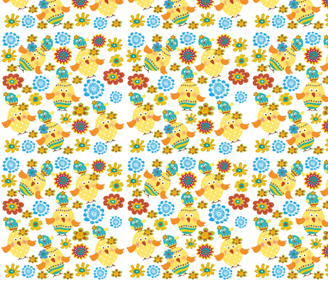 Goofy Egg Toss fabric by deeniespoonflower on Spoonflower - custom fabric