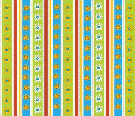 EGGCITED_SASSY_STRIPES_001 fabric by deeniespoonflower on Spoonflower - custom fabric