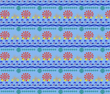 Circus Whirl Mini fabric by scifiwritir on Spoonflower - custom fabric